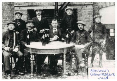 Brouwerij Van Honsebrouck, omstreeks 1916-1918