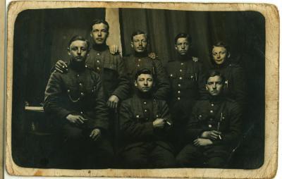 Soldaten ten tijde van WOI