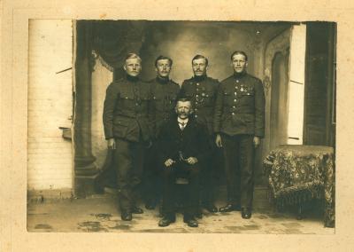 Edward Van Doorne, Oostnieuwkerke, 1919