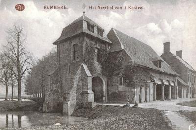 Neerhof van 't Kasteel , Rumbeke
