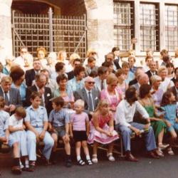 50 jaar Batjesstoet, eretribune, 1982