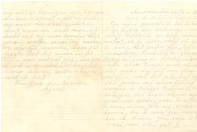 Jules Verhoye, brief 24 juni 1913