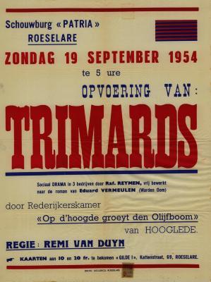 Toneelaffiches 1954