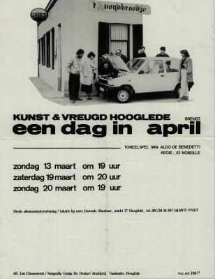 Toneelaffiches 1988
