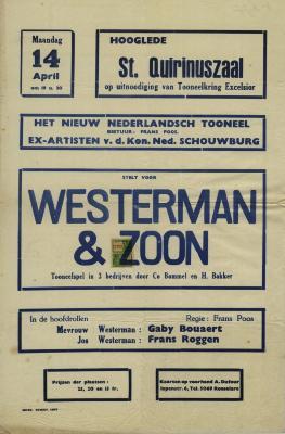 Toneelaffiches 1947