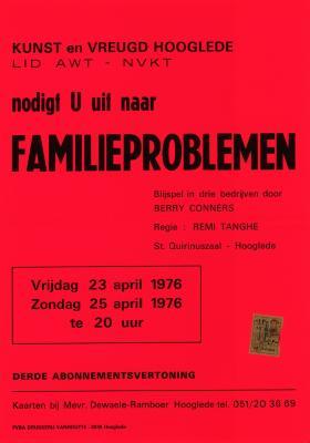 Toneelaffiches 1976