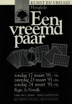 Toneelaffiches 1991