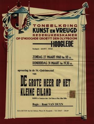 Toneelaffiches 1960