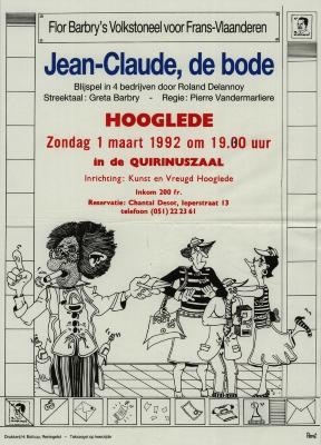 Toneelaffiches 1992
