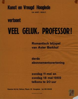 Toneelaffiches 1969