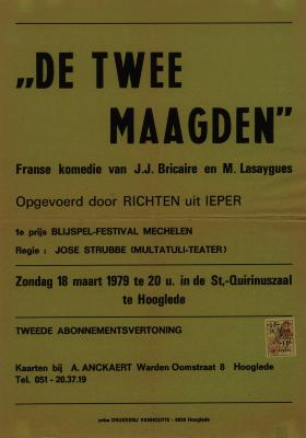 Toneelaffiches 1979