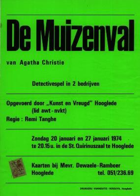 Toneelaffiches 1974