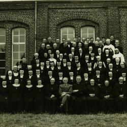 Groepsfoto clerus, Beveren