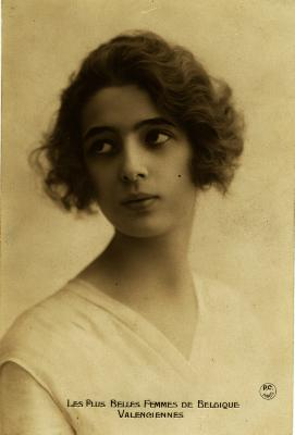 De mooiste vrouwen van België, begin twintigste eeuw (deel 2).