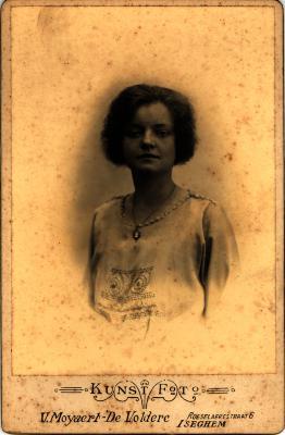 Kunstfoto van een vrouw