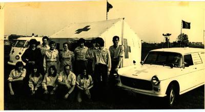 Rode Kruis Kachtem, 1976
