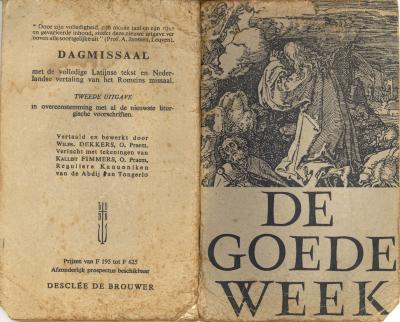 Liturgie van de Goede Week, 1956