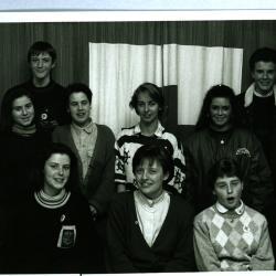 Groepsfoto Rode Kruis Izegem, jaren '90?