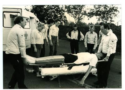 Rode Kruis Oefening?