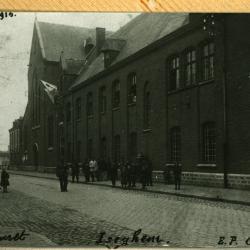 Kriegslazarett, Izegem, 1914-1915