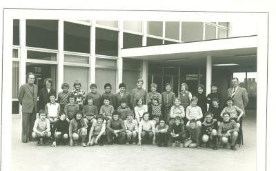 Jongensschool, Staden, eind jaren '70