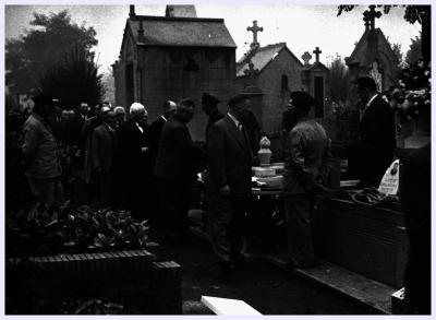 Begrafenis Samoy, 1955