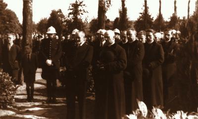 Begrafenis Frans Dujardin, 1944