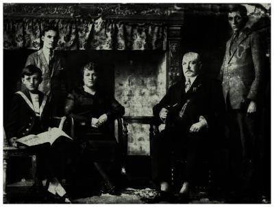 Alfons Slosse met familie, 1926