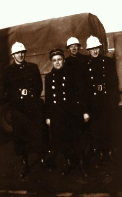 Agenten Decancq, Sambaer en Huyghebaert, 1945