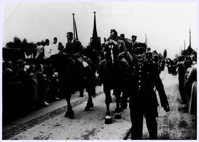 Agent Deforce in Oekene, 1944
