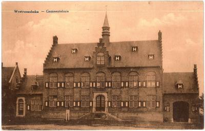 Westroosebeke - Gemeentehuis