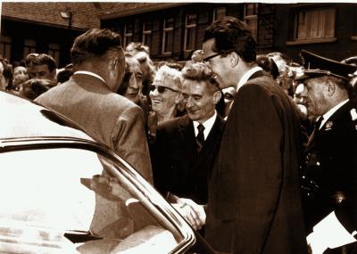 Bezoek koning, 1965