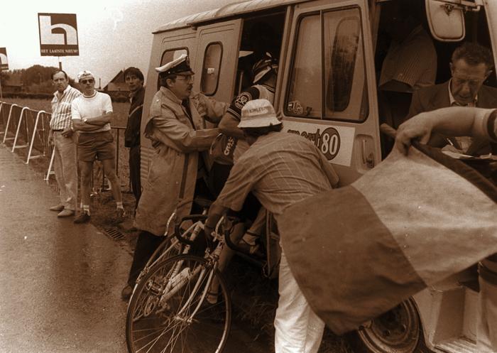 Vechtpartij Rumbeke koers, 1985