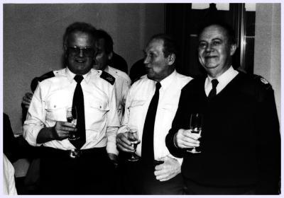 Afscheidsfeestje Willy Sambaer, 1992