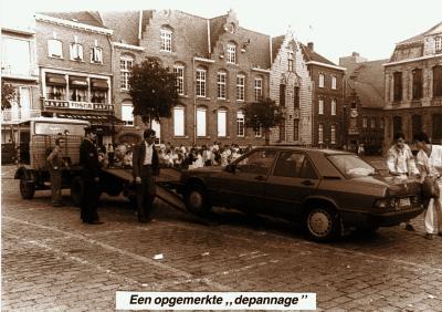 Auto getakeld, 1985