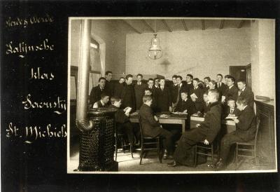 Vierde en derde Latijnse klas van het Klein Seminarie