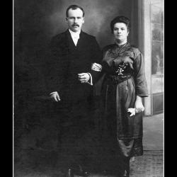 Huwelijk Joseph Vanderzyppe - Vanlandeghem Magdalena, Ingelmunster, 1920