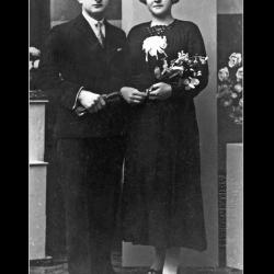 Huwelijk Gerard Debusschere - Magdalena Maria Wulbrecht, Ingelmunster, 1936