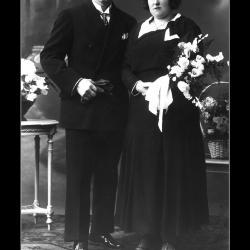 Huwelijk Karel Couvreur - Adriana Vanlerberghe, Ingelmunster, 1932