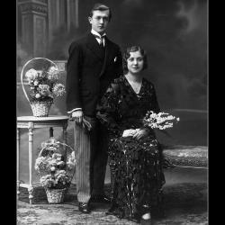 Huwelijk Maurice Segier - Bertha Nyffels, Ingelmunster, 1932