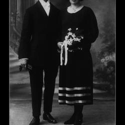 Huwelijk Alfons Richard Geldof - Godelieve Maria Uyttenhove, Ingelmunster, 1925