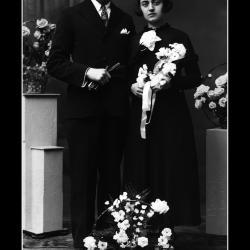 Huwelijk Georges Duyvejonck - Madeleine Lannoo, Ingelmunster, 1936