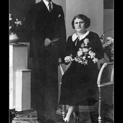 Huwelijk Roger Wulbrecht - Godelieve Vantieghem, Ingelmunster, 1939
