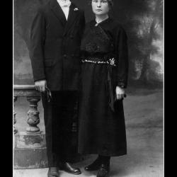 Huwelijk Joseph Ignaas Planckaert - Julma Maria Desmet, Ingelmunster, 1923