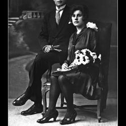 Huwelijk Aloïs Coopman - Elisa Windels, Ingelmunster, 1929
