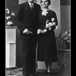 Huwelijk Remi Carpels - Martha Deckmijn, Ingelmunster, 1939