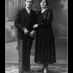 Huwelijk Maurits Delorge - Julia Rigole, Ingelmunster, 1934