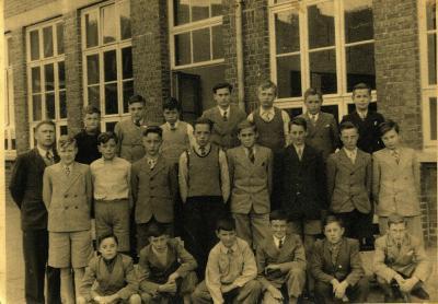 Klasfoto Jongensschool, Gits