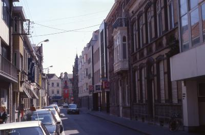 Straatzicht Henri Horriestraat, 1997