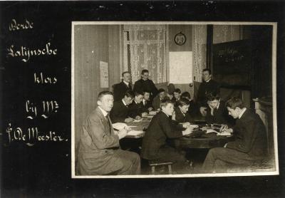 Latijnse klas van het Klein Seminarie